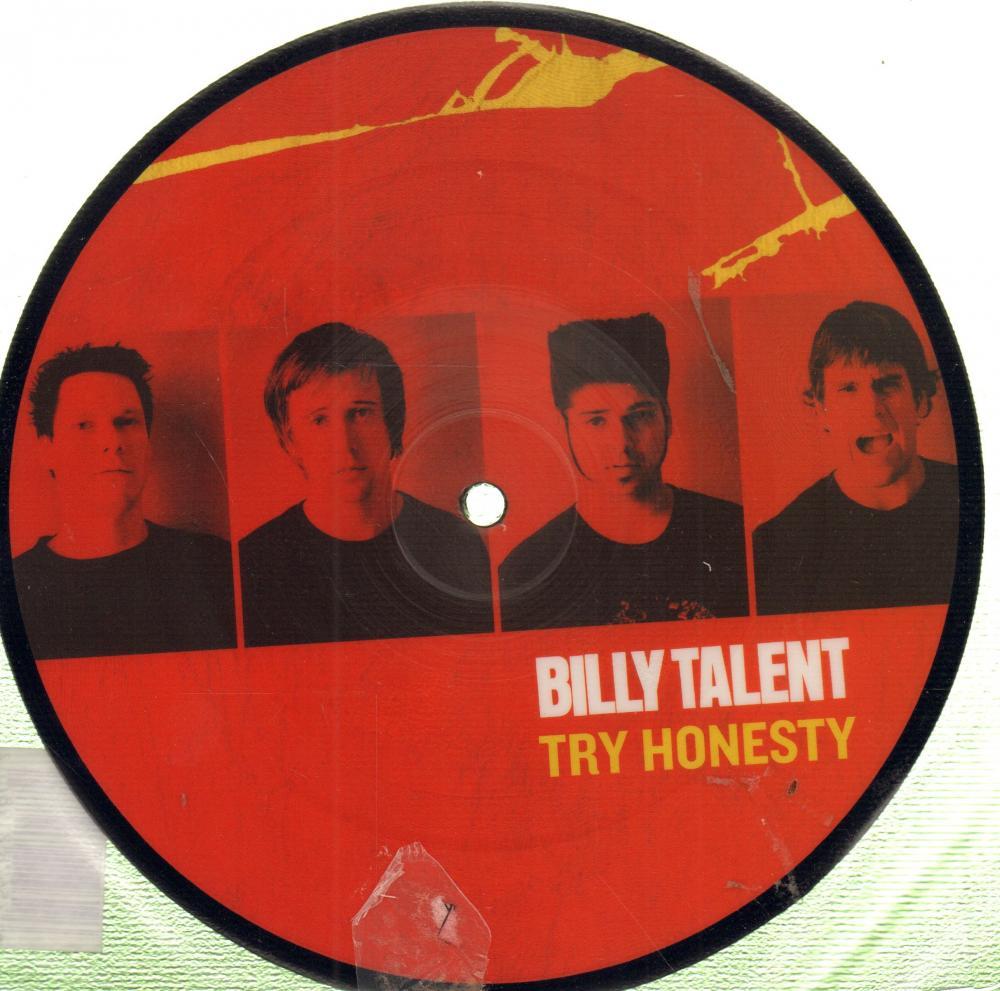 "Billy Talent(7"" Vinyl)Try Honesty-Atlantic-AT0160-UK-2003-M/M"