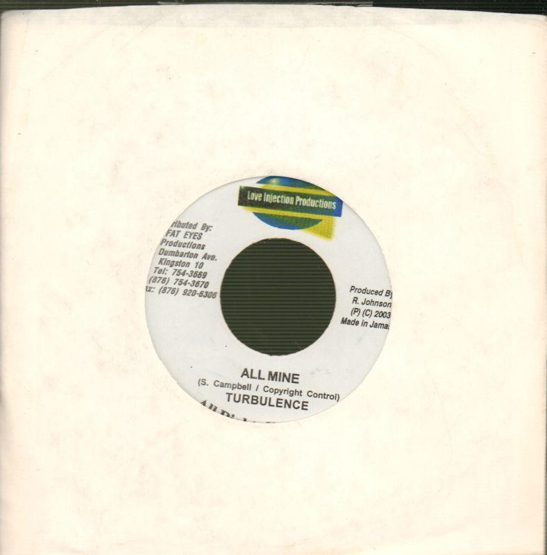 dda464145 Image is loading Turbulence-7-034-Vinyl-All-Mine-Love-Injection-