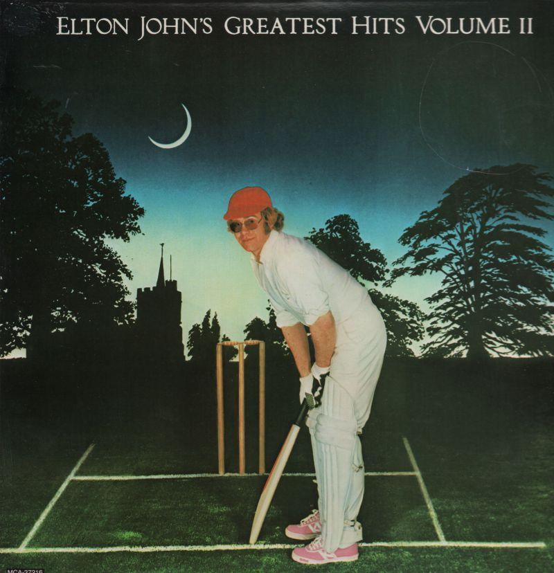 Elton John Vinyl Lp Greatest Hits Volume Ii Mca Mca 37216