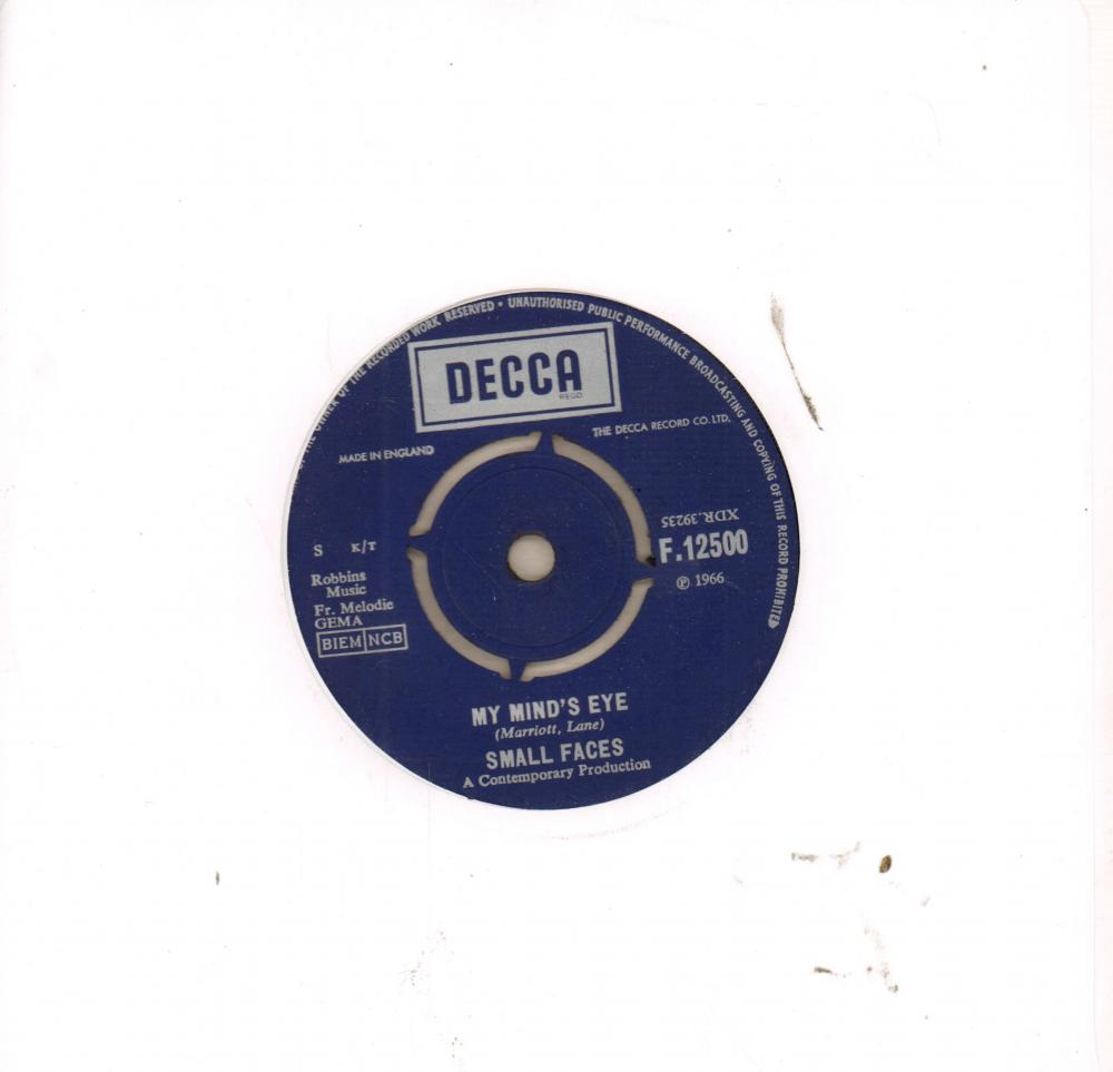 Small Faces My Minds Eye I Cant Dance With You