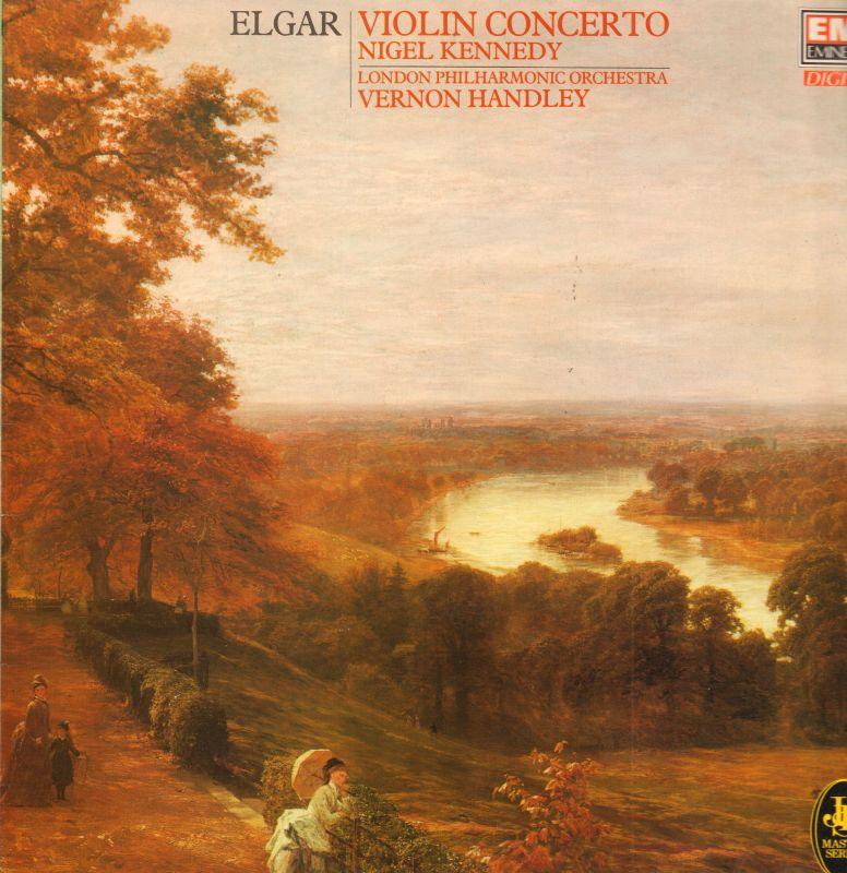 Elgar-Vinyl-LP-Violin-Concerto-EMI-41-2058-1-UK-VG-NM