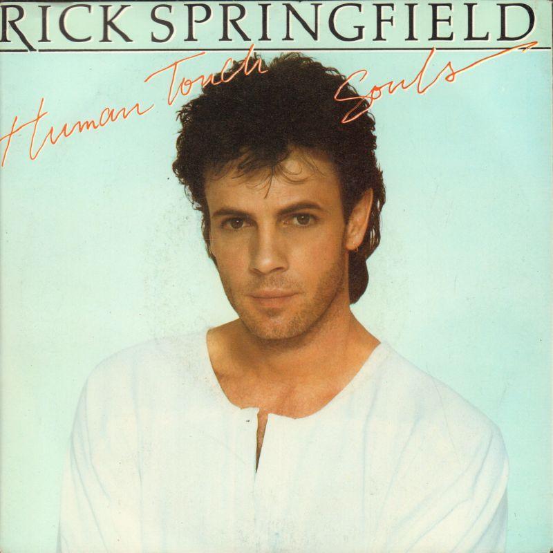 Rick-Springfield-7-034-Vinyl-P-S-Human-Touch-RCA-RICK-1-UK-1983-Ex-VG