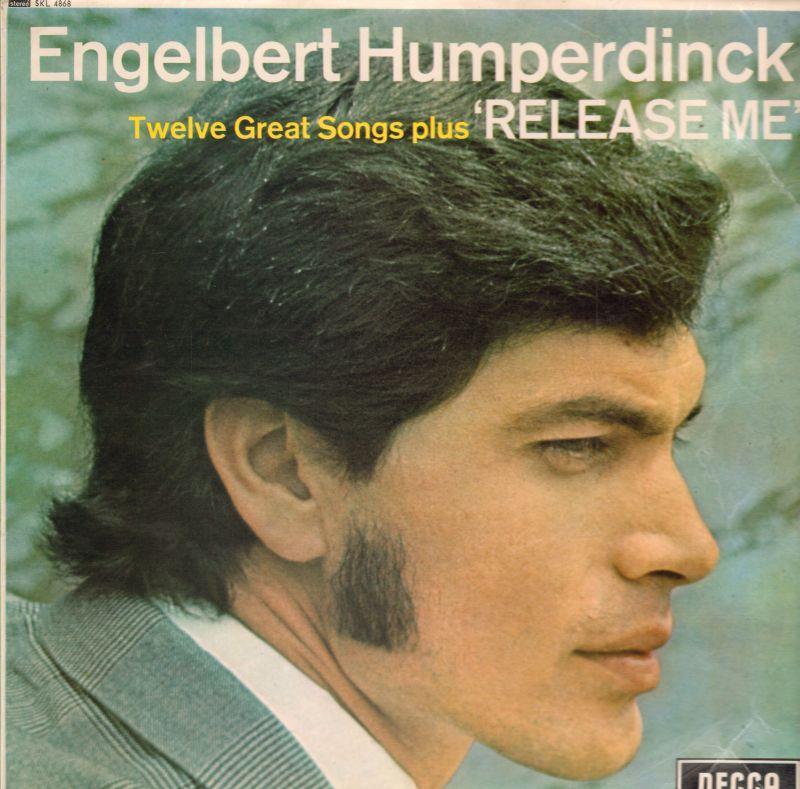 Engelbert Humperdinck Vinyl Lp Release Me Decca Skl 4868