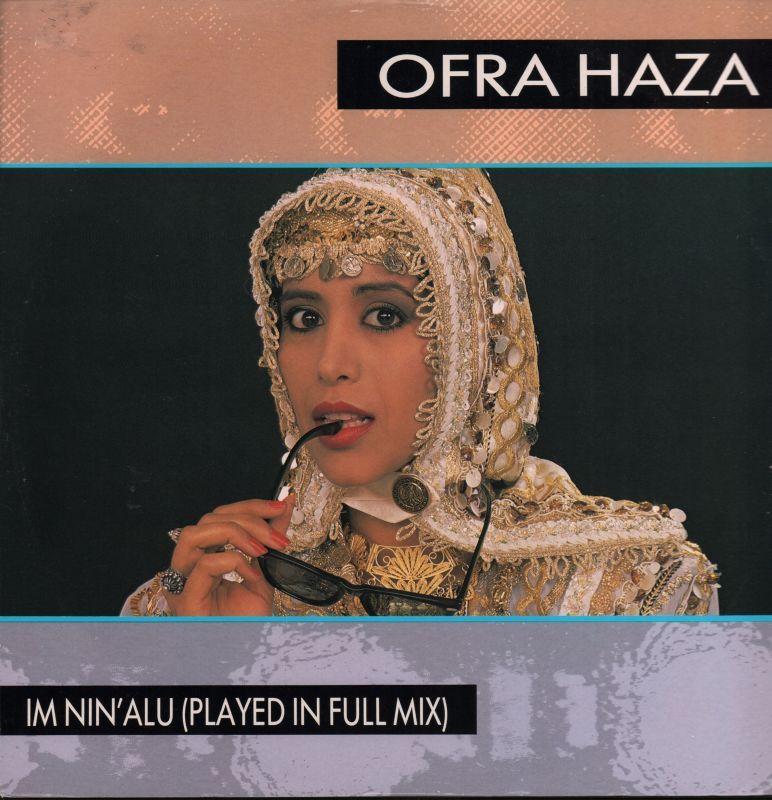 Ofra-Haza-12-034-Vinyl-P-S-Im-Nin-039-s-Alu-WEA-Records-YZ190T-1988-VG-VG